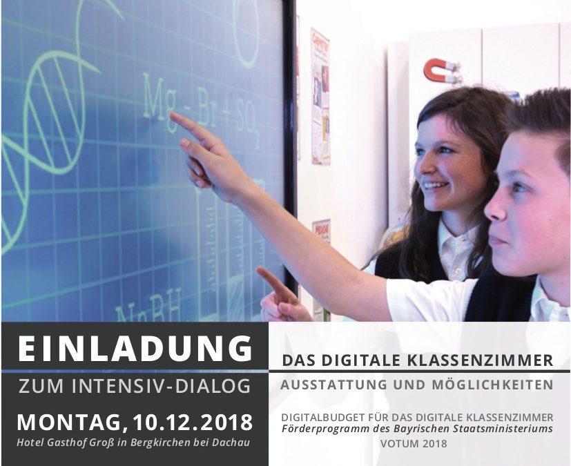 Digitales Klassenzimmer | Förderprogramm Votum 2018