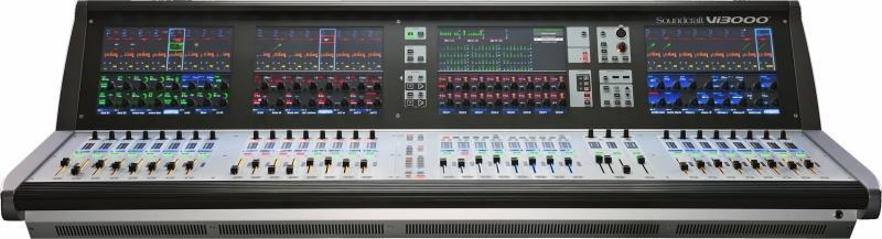 Erweiterung des Mietparks Soundcraft Vi3000 digital Mischpult